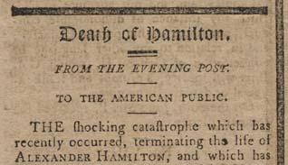Alexander Hamilton And Elizabeth Schuyler